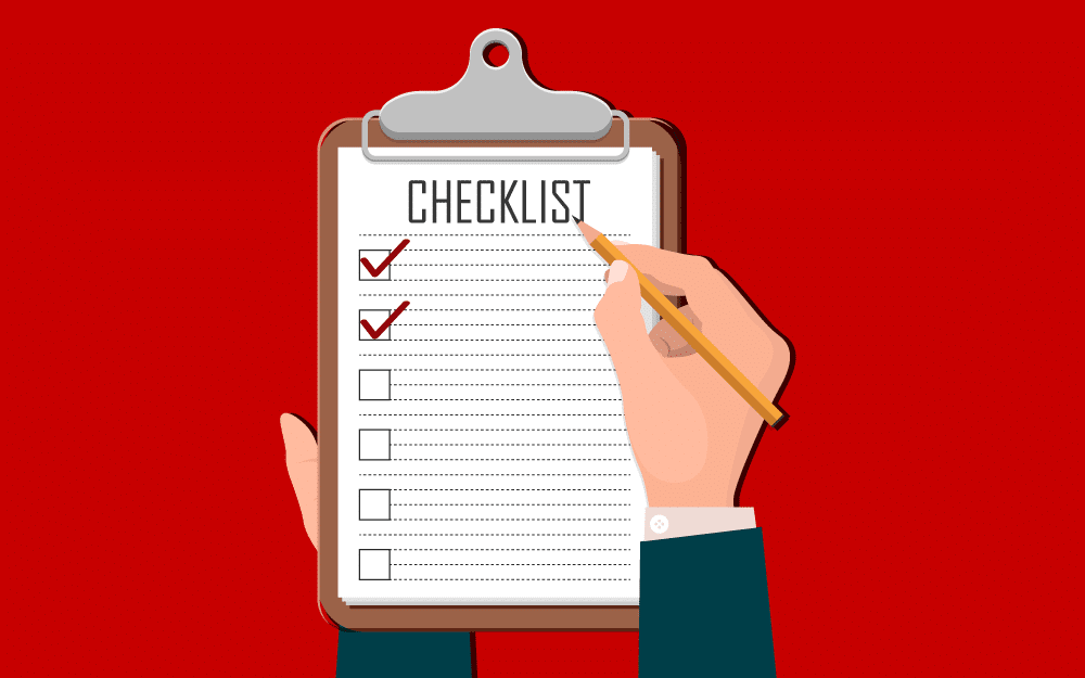 checklist for your new email signature