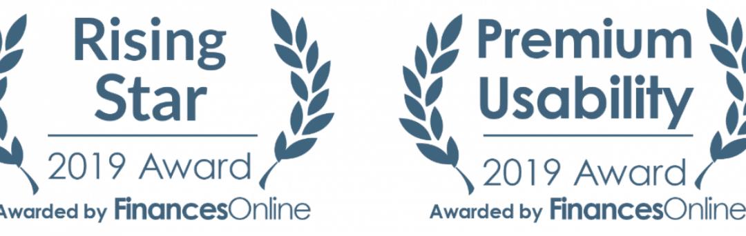 Crossware Awarded 2019 Premium Usability Award and Rising Star Award