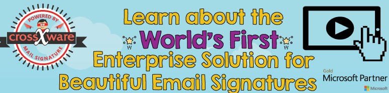 worlds first enterprise solution for beautiful email signatures