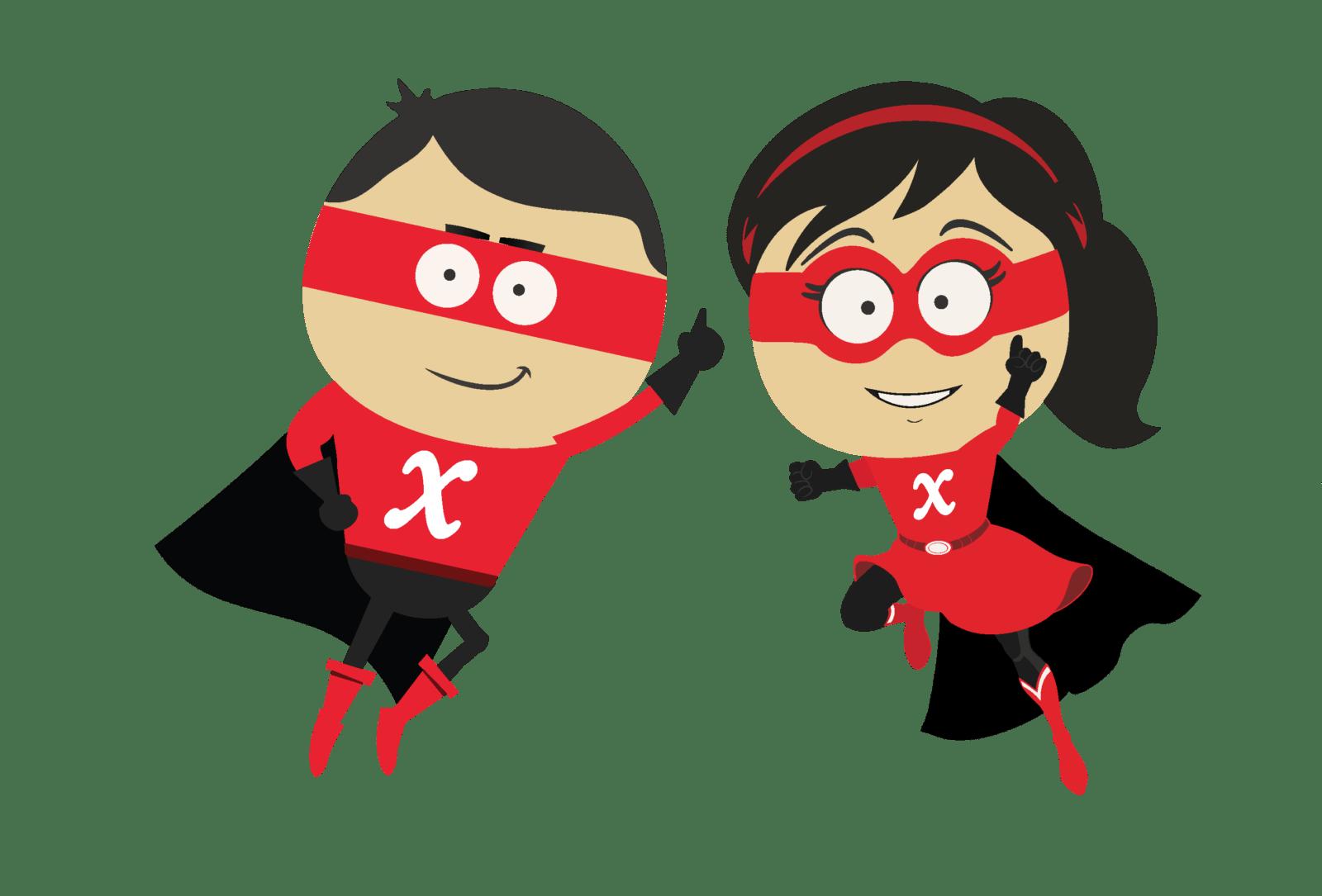 Crossware Mail Signature Superheroes