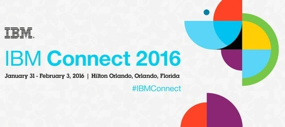 IBM Connect 2016 banner featured