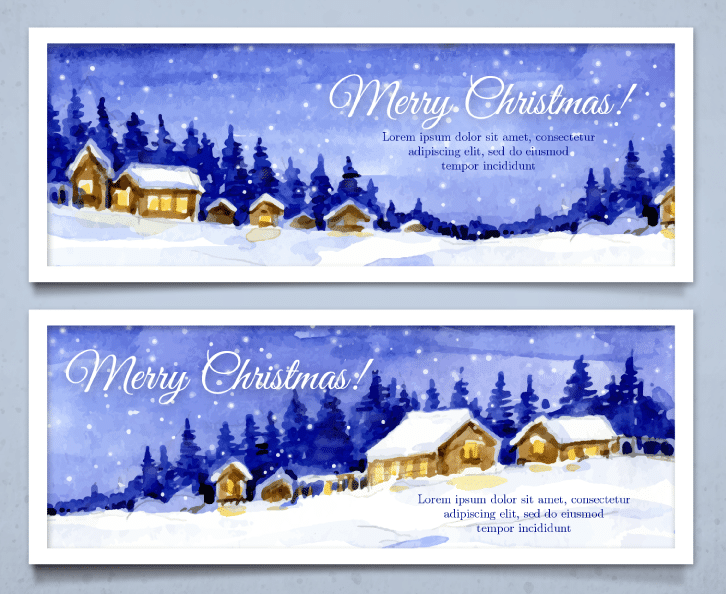 12 Free Vector Graphics for your Christmas Emails