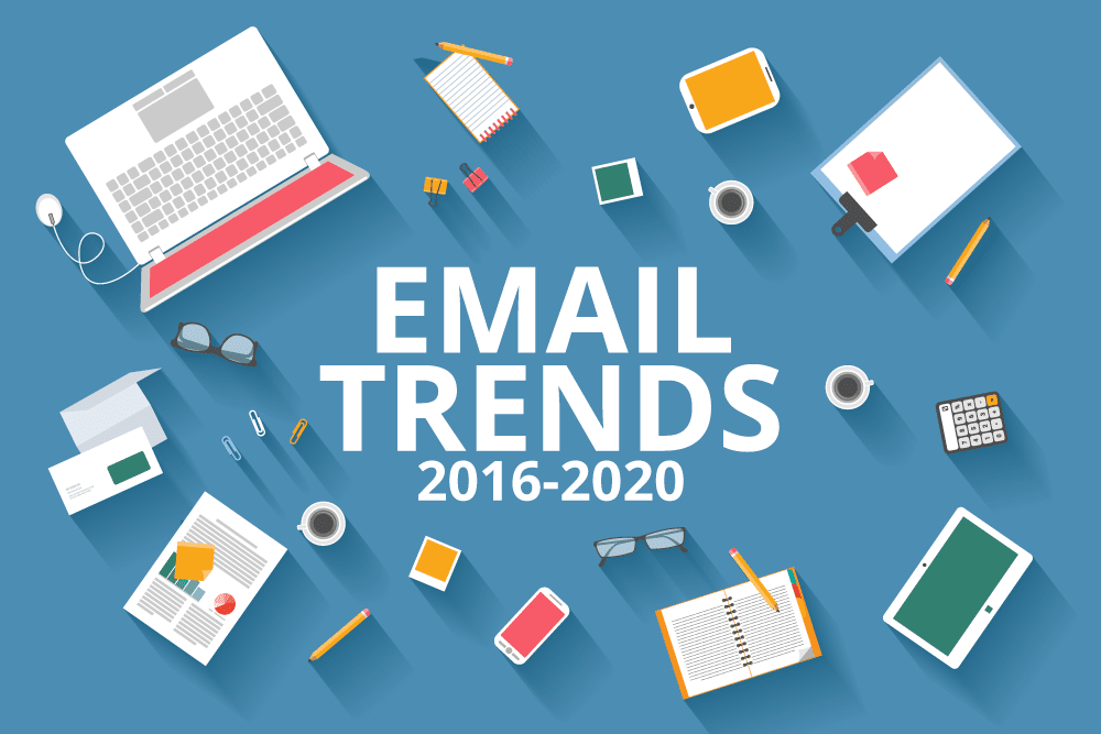 Email trends graphic