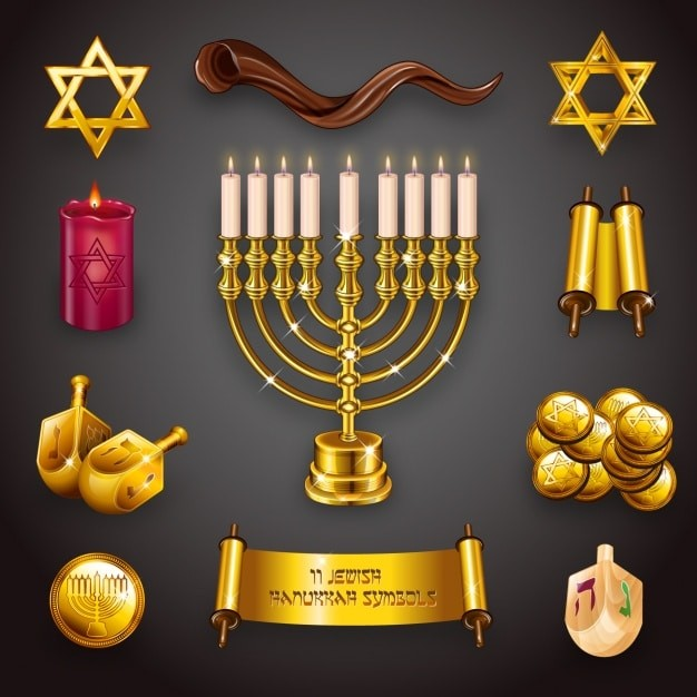 6 Free Vector Graphics for your Kwanzaa and Hanukkah Emails