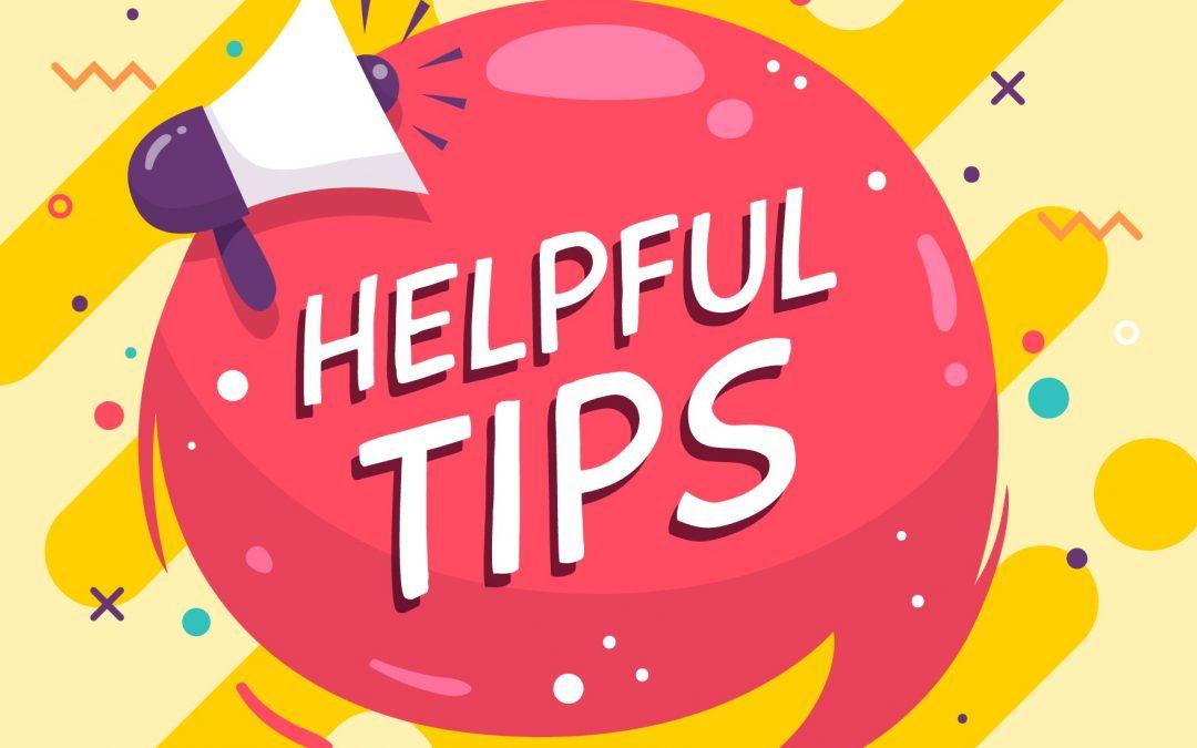 CMS helpful tips